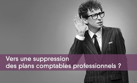 Vers une suppression des plans comptables professionnels ?