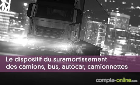Le dispositif du suramortissement des camions, bus, autocar, camionnettes