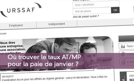 Retrouver Le Taux De Cotisations At Mp Et Le Code Risques Associe