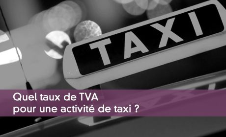 La Tva Applicable Aux Taxis