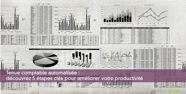 Tenue comptable : découvrez 5 étapes clés pour améliorer votre productivité