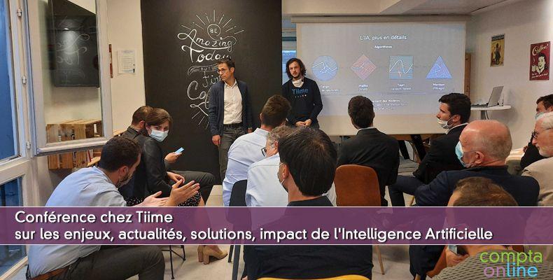 Enjeux, actualités, solutions,  impact de l'intelligence artificielle