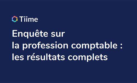 Enquête sur la profession comptable par Tiime