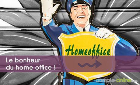 Le bonheur du home office !