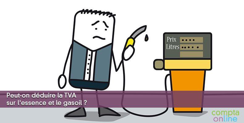 TVA sur essence et gasoil