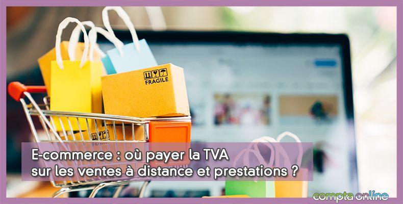 TVA vente à distance ecommerce