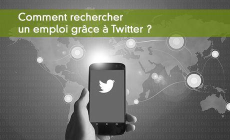Comment rechercher un emploi grâce a Twitter
