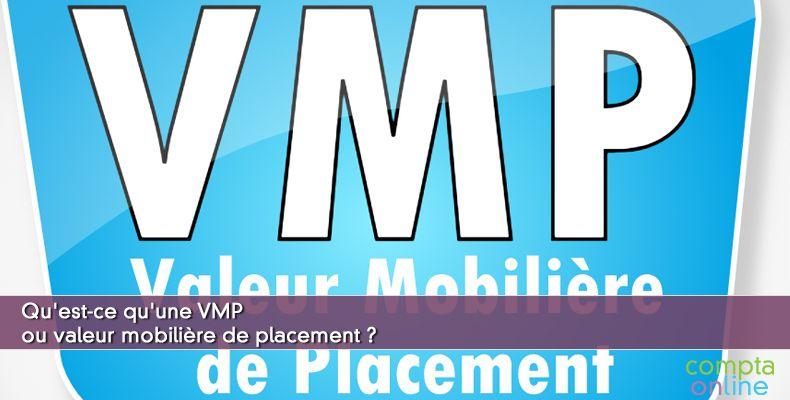 Valeur mobilière de placement VMP
