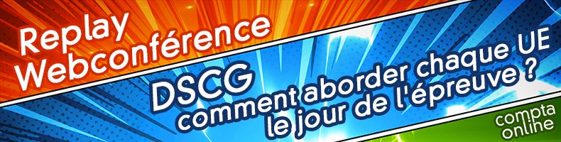 Webconférence DSCG