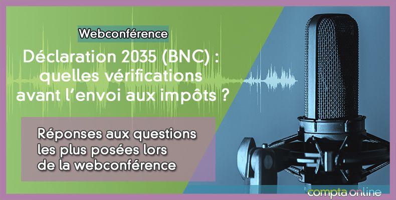 Réponses aux questions les plus posées lors de la webconférence Déclaration 2035 - spécial Covid