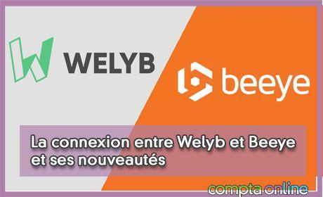 La connexion entre Welyb et Beeye et ses nouveautés