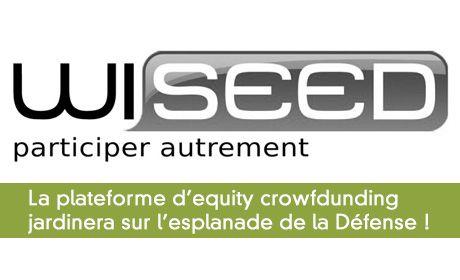 La plateforme d'equity crowdfunding WiSEED va verdir la Défense