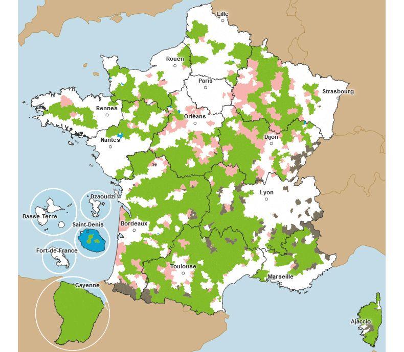 Zone de revitalisation rurale - ZRR